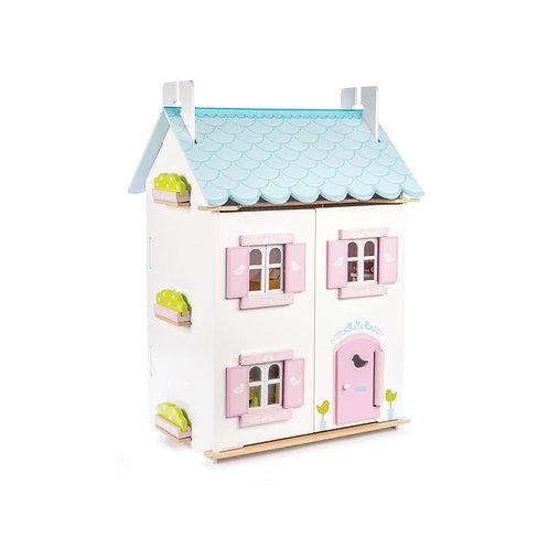 Bluebird Wooden Dolls House & Furniture