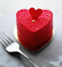 N0 33 Bakery - Heart Cake £18