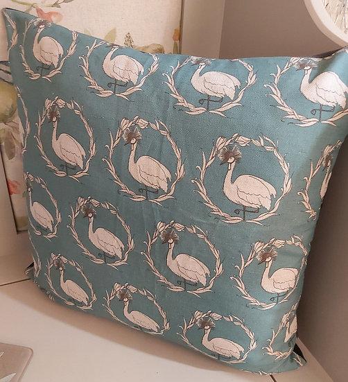 Pom Pom Crane Cushion