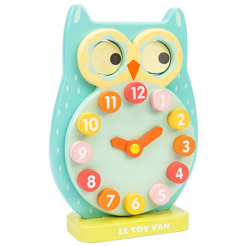 Blink Owl Clock