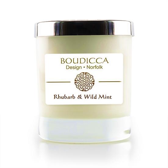 Rhubarb & Wild Mint Candle