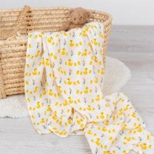Little Ducks Swaddling Blanket