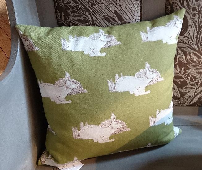 Hare Sprint Cushion - Large