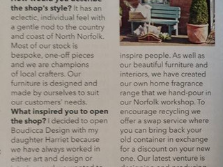 As Featured In Country Homes & Interiors