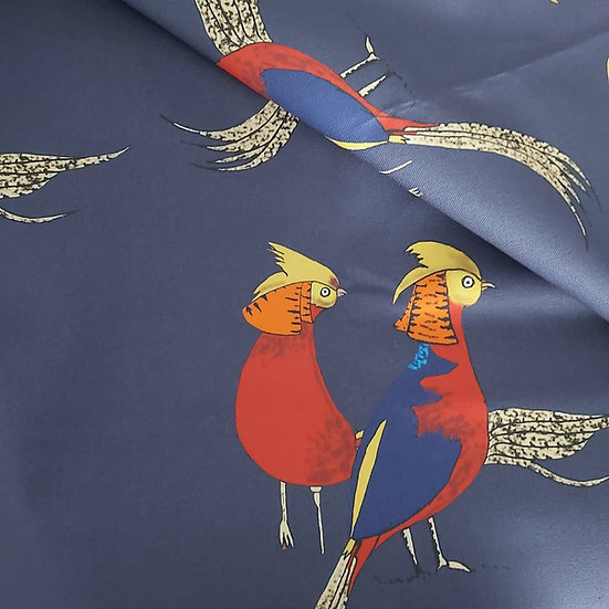 Golden Pheasant Fabric