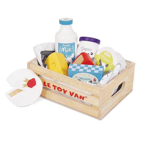 Cheese & Dairy Crate