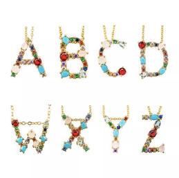 Aurina - Gem Initial Necklace £12.95