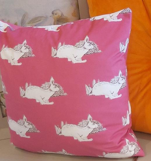 Velvet Hare Sprint Cushion
