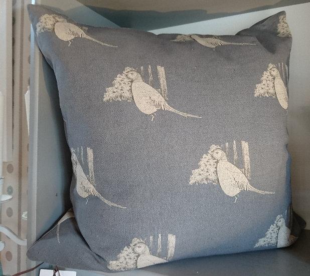 Still Pheasant Cushion - Large