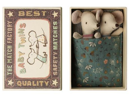 Baby Mice - Twins in a Box