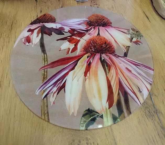 Round Glass Platters
