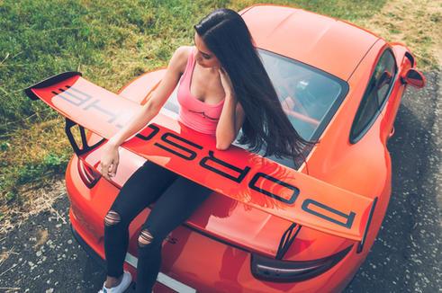 Porsche focení pro 101 RIDERS