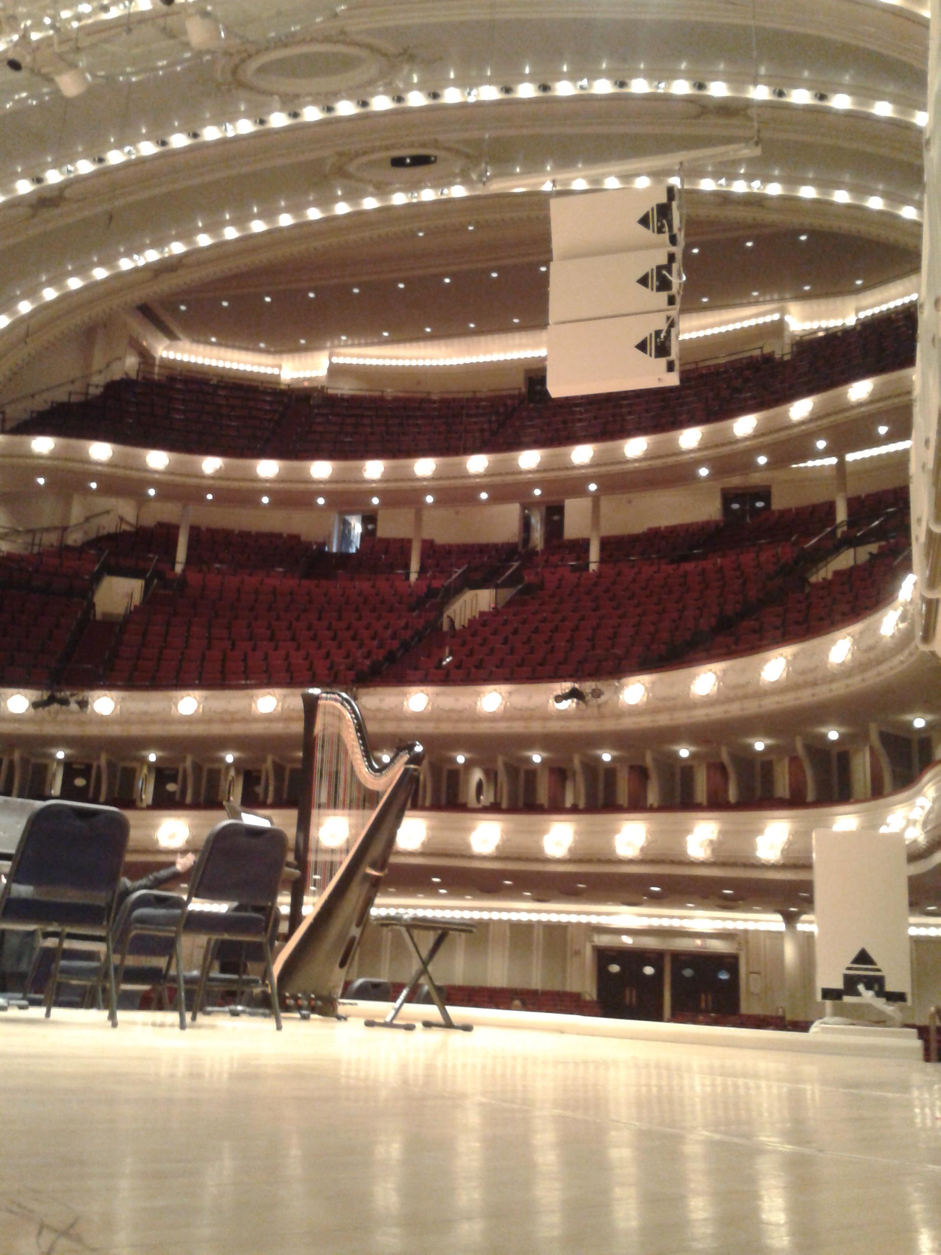 At Symphony Center