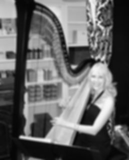 Harp Music for a Salon Opening