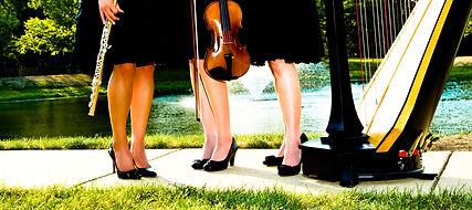 Volare Trio: Harp, Violin, & Flute
