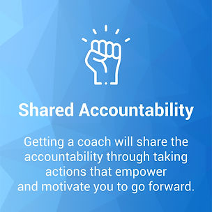 Shared accountability with personal coaching