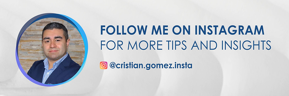 Cristian Gomez career coaching for data professionals Instagram channel