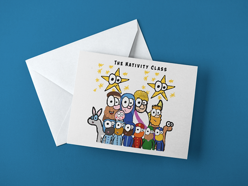 Nativity Class - Postcard