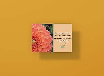 mockup-of-a-horizontal-postcard-floating