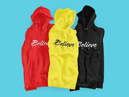 mockup-of-three-hoodies-placed-on-a-cust