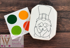 St. Patty's Paint Your Own Cookie