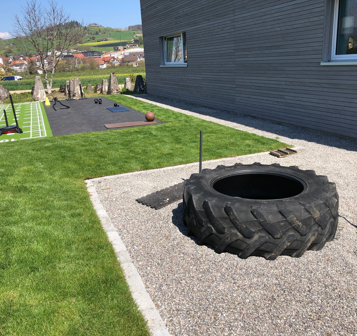 outdoor intervall training im infiniti
