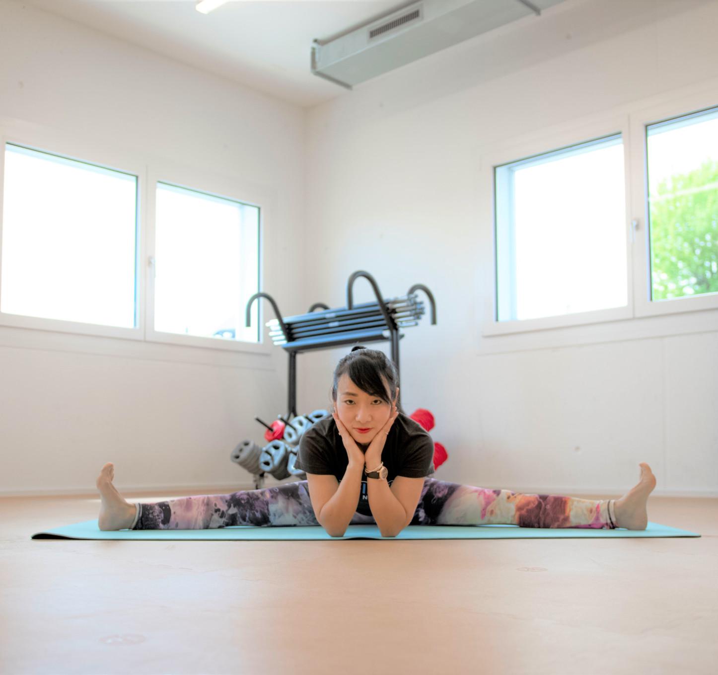 morgen yoga im infiniti