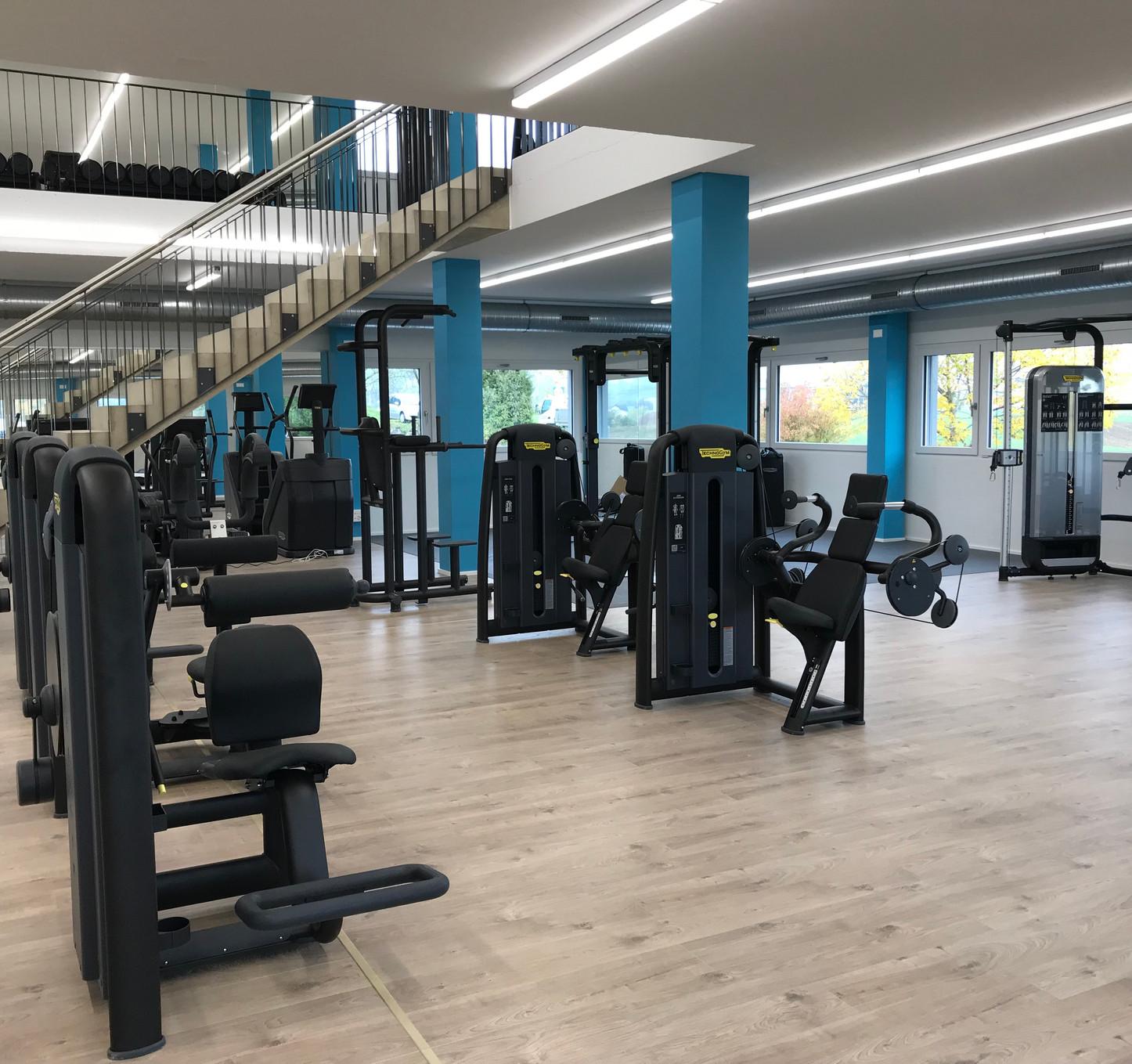 erdgeschoss im infiniti fitness