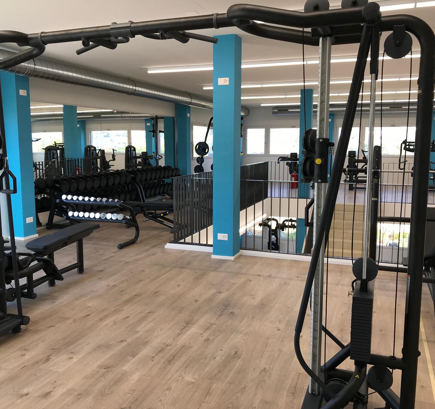 obergeschoss fitnessfläche infiniti