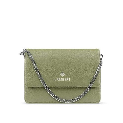 EMMA- Vegan leather purse sage
