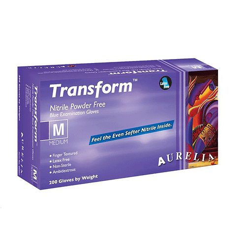 Aurelia Transform® Nitrile Powder-Free Examination Gloves