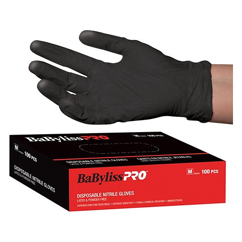 BABYBLISSPRO - Disposable Vinyl Gloves Black