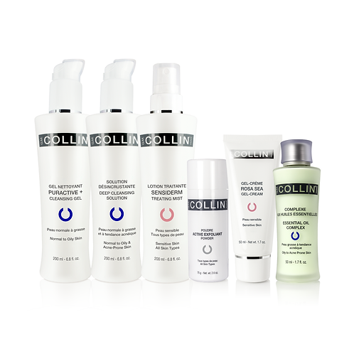 Oily to Acne-Prone Sensitive Pack G.M Collin