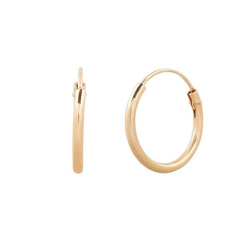 Sleepers Hoops Earrings in Gold Small