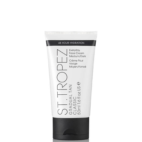 ST. TROPEZ Gradual Tan  Face Cream - Medium/Dark  50 ml