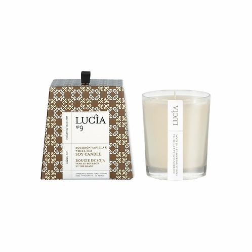 N°9 Bourbon Vanilla & White Tea Soy Candle 20 Hours