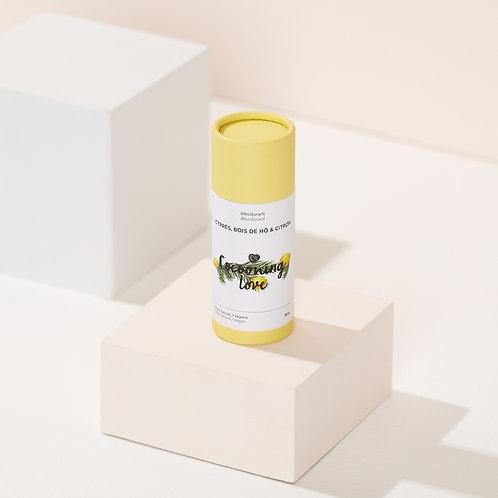 Vegan Deodorant – Cypress, Wood of hö & Lemon