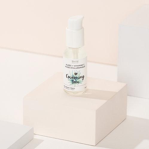 Gel Serum – Aloe – Vitamin C – Hyaluronic Acid