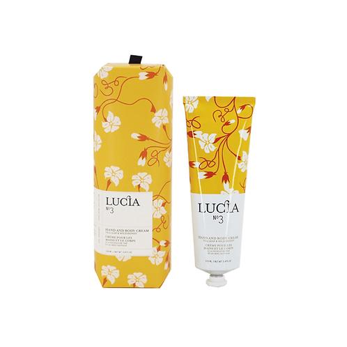 N°3 Tea Leaf & Wild Honey Hand and Body Cream 100ml