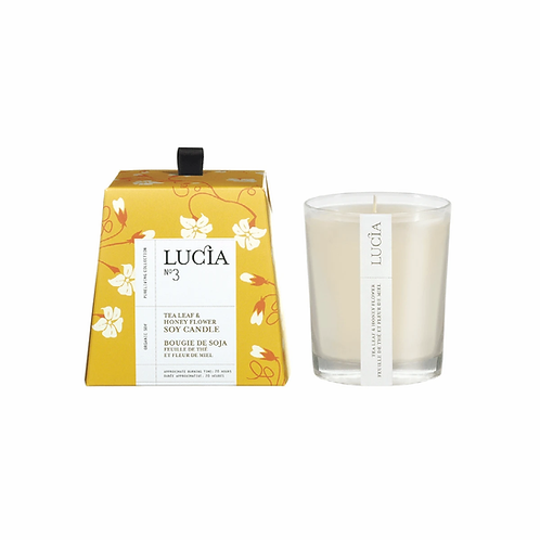 N°3 Tea Leaf & Honey Flower Soy Candle 20 Hours