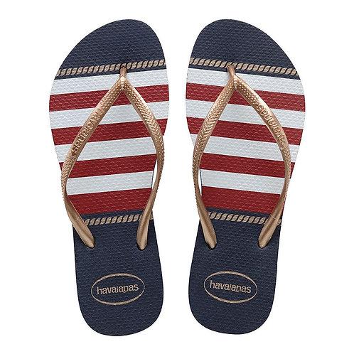 Slim Nautical Sandal