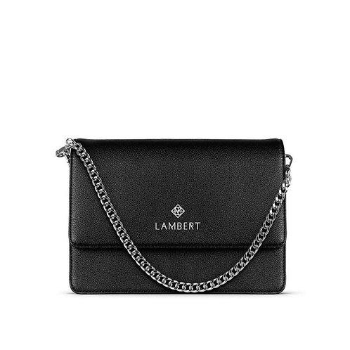 EMMA- Vegan leather purse black