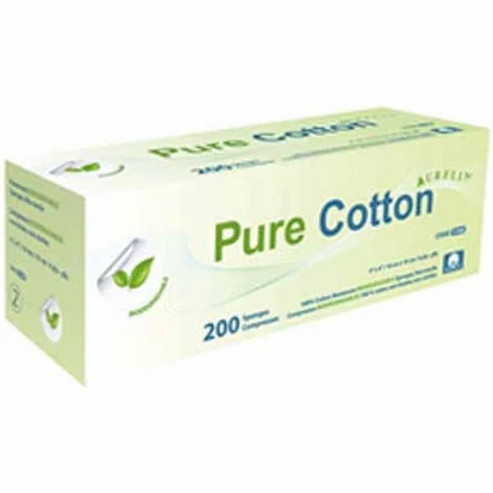 GAUZE 4X4 PURCOTTON AURELIA (200)