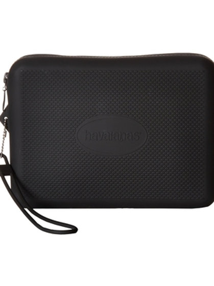 Beach Necessaire (Black) Handbags Large