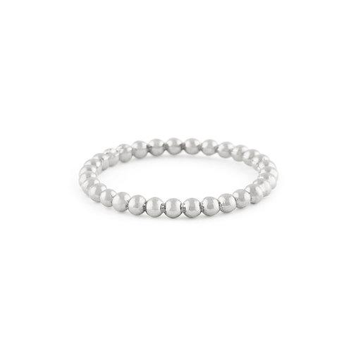 Sea Pearl Ring in Silver