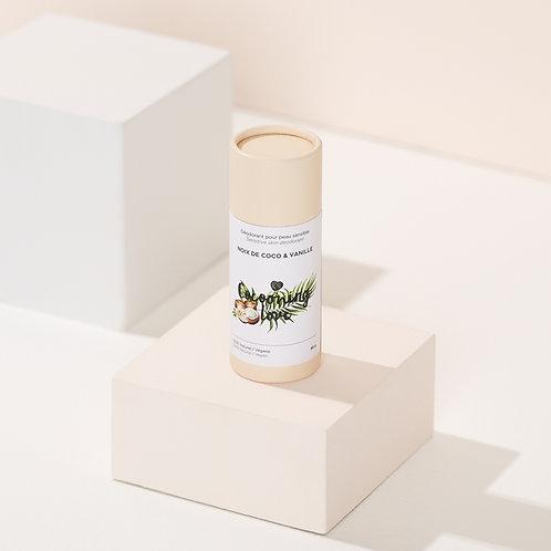 Vegan Deodorant for Sensitive Skin – Coconut & Vanilla