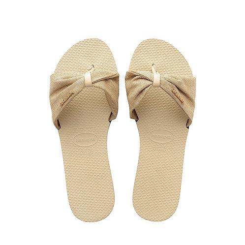 Saint Tropez sandal Beige/Gold
