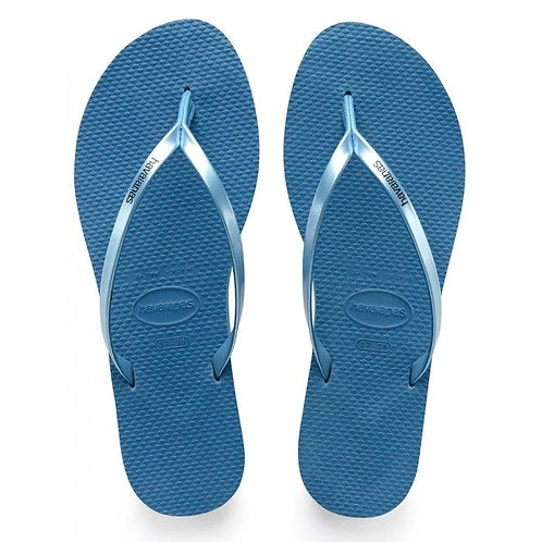 You Metallic Sandal Blue
