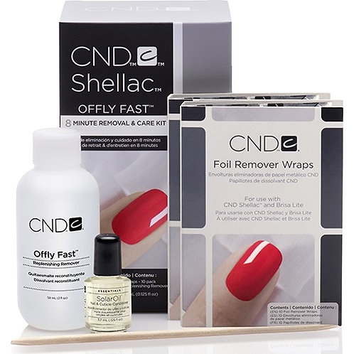 CND Shellac  8 Minute Removal & Care Kit