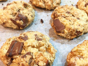 Oaty Apricot Biscuits